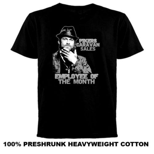 Pikers Caravan Employee Of The Month Snatch T Shirt Cool Casual