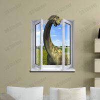 Fake Window Dinosaur 3d Printer Removable Wallpaper Wall