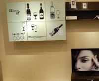 Black Wine Bottles Wall Art Mural Decor Wine Bottle ...