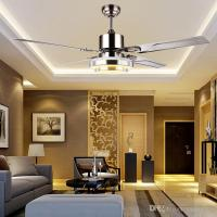 2018 With Remote Control Ceiling Fan Light Minimalist ...