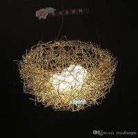 Creative Nest Lamp Pendant Lights Trendy Led Pendant Lamps ...