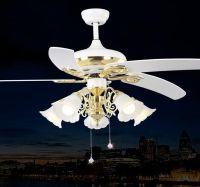 2017 Vintage Ceiling Fans Pendant Lamp In White Color Led ...