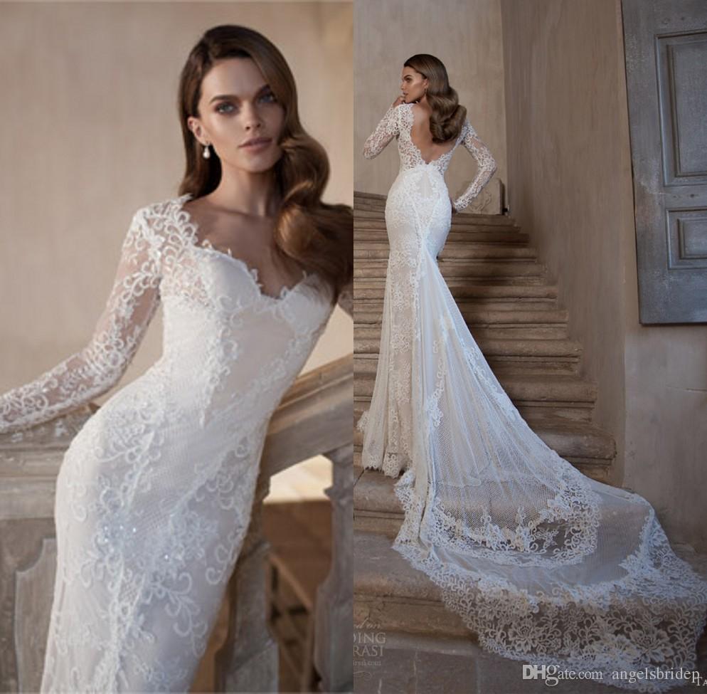 Fullsize Of Lace Long Sleeve Wedding Dress