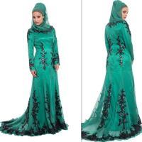 Arab Islamic Muslim Prom Dresses Hijab Spring Long Sleeves ...