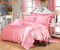 Online Cheap Luxury Light Pink Silk Bedding Sets Chinese ...