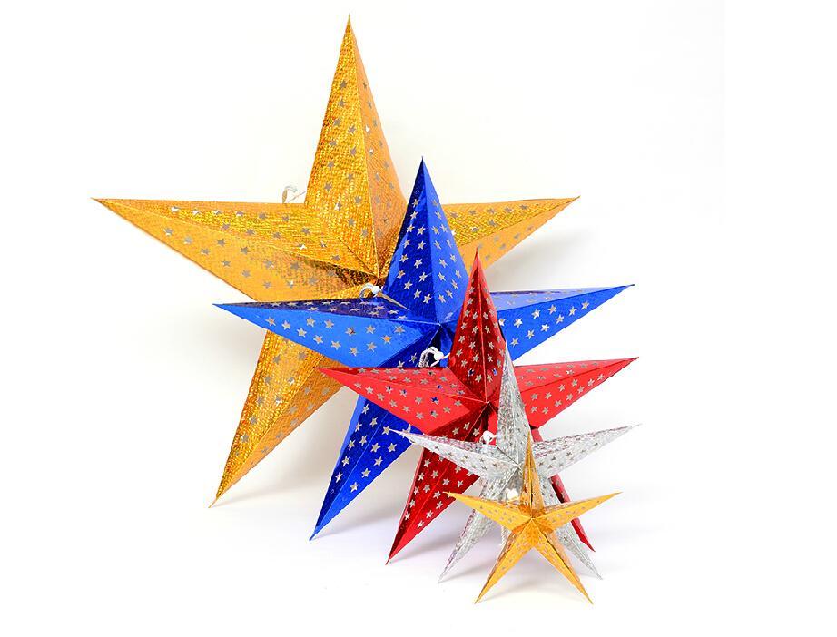 60cm Christmas Star 2015 New Hot Decorations Xmas Creative Cute - christmas star decorations