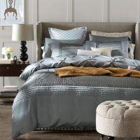 Luxury Silver Grey Bedding Sets Designer Silk Sheets ...