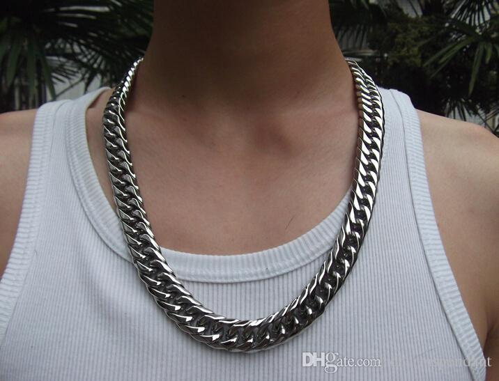 2018 With Lobster Clasp Men Jewelry 15mm 243939 Huge Large
