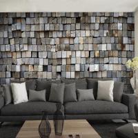 3d Stereo Custom Brick Wall Mural Tea Shop Cafe Living ...