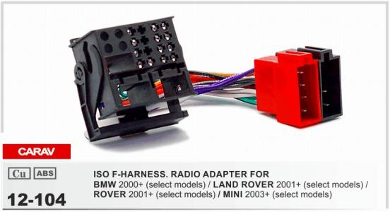 CARAV 104 ISO F HARNESSRADIO ADAPTER FOR BMW/LAND ROVER Defender 2