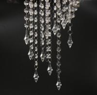 33FT Crystal Garlands Acrylic Bead Strands Manzanita Tree ...