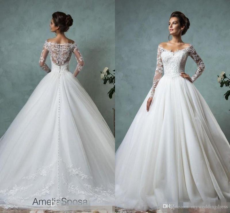 Large Of Lace Sleeve Wedding Dress