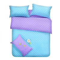 Purple Blue Dots Bedding Sets Polka Dot Full Double Queen ...
