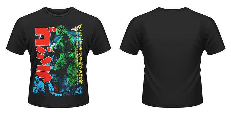 Plan 9 Godzilla Godzilla Kaiju NEW T Shirt New T Shirt Spring Summer