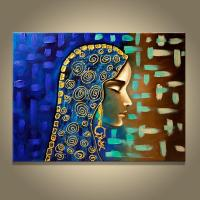 2019 Hand Made Painting Egyptian Girl Wall Canvas Picture ...