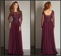 Plum Color Mother of the Bride Dresses | Dress images