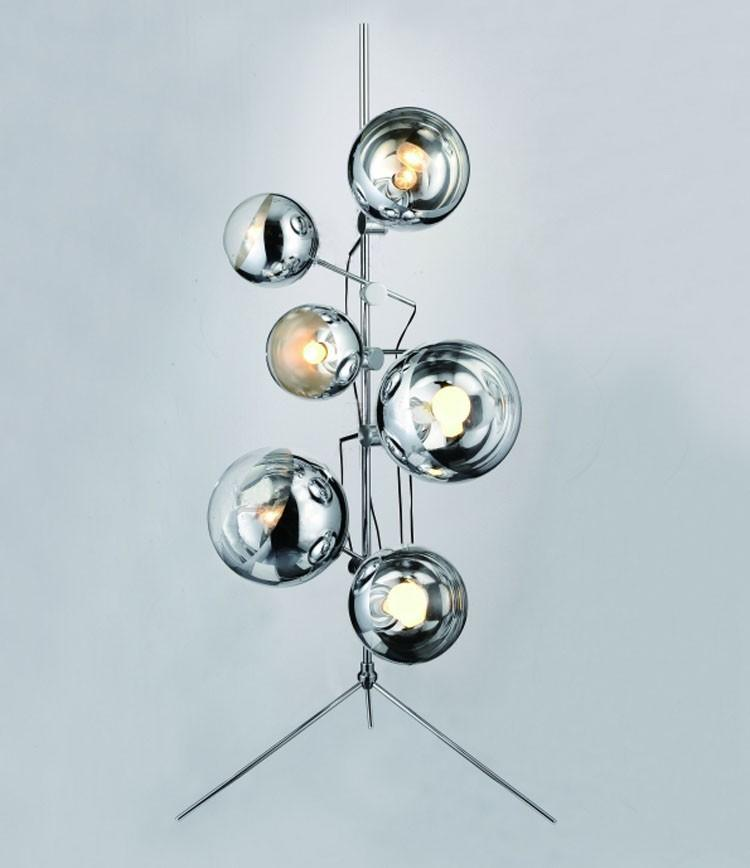 2017 Creative Mirror Ball Stands Modern Stylish Minimalist Mirror - living room light stand