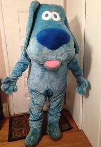 New 2015 Eva Adult Size Blue's Clues Blue Dog Furry Mascot ...