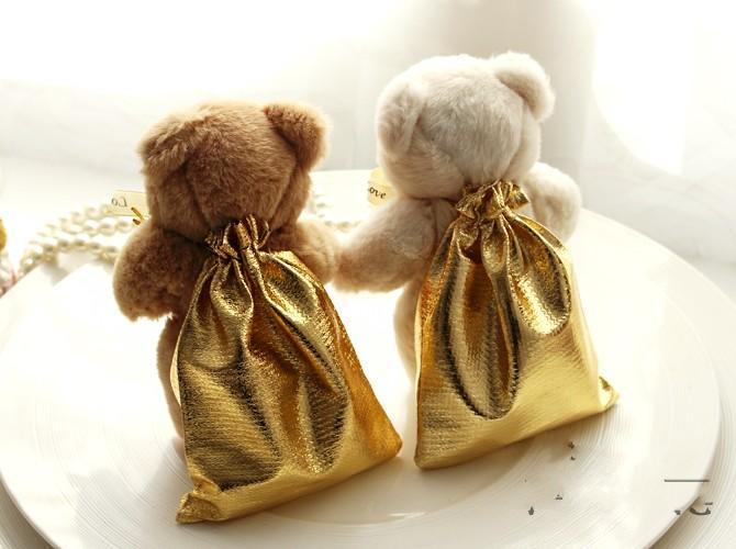 Novety Wedding Ivory Teddy Bear Candy Bag Candy Wedding