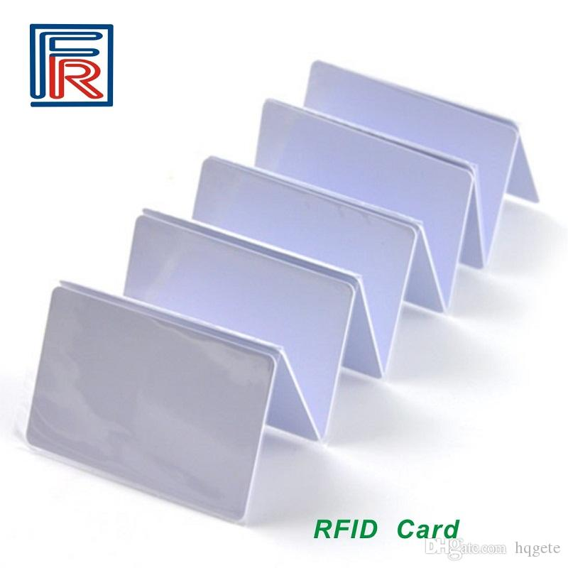 1356 Mhz Fudan M1 Rfid Card Compitable MF S50 Chip ISO14443A