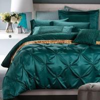 Luxury Bedding Set Blue Green Duvet Cover Bed In A Bag ...