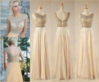 2015 Best Selling In Stock Prom Dresses Rhinestone Beaded ...