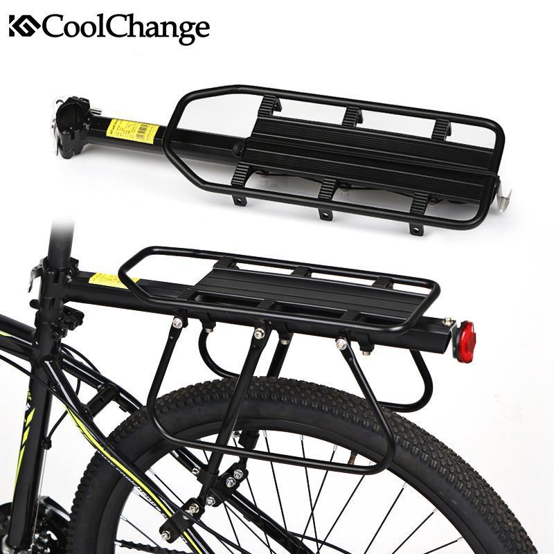 Best Coolchange Aluminium Alloy Bicycle Carrier Rack Mtb