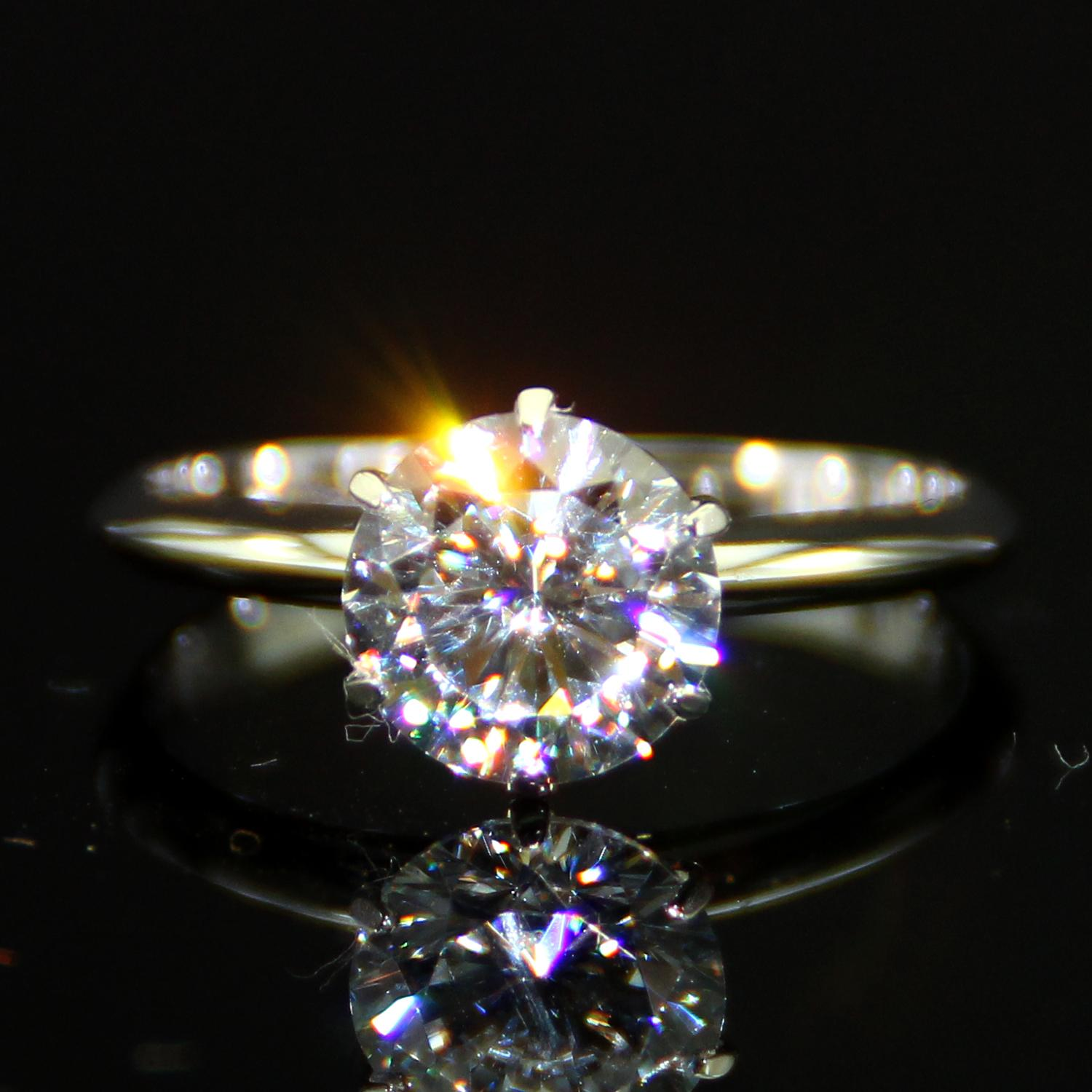 Fullsize Of Lab Created Diamond Rings