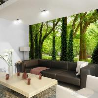 Beautiful Woods Wallpaper Custom Wall Mural Nature ...
