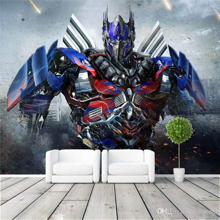 3d Wallpaper For Kid Bedroom Optimus Prime Photo Wallpaper 3d Transformers Photo