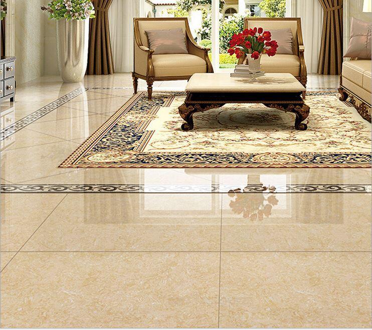 2017 Floor Tiles Living Room Skid Ceramic Stone Tile 800 * 800 3d - tile living room floors
