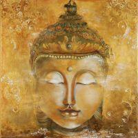 Vintage Buddha Photo Wallpaper 3d Custom Wallpaper Oil ...