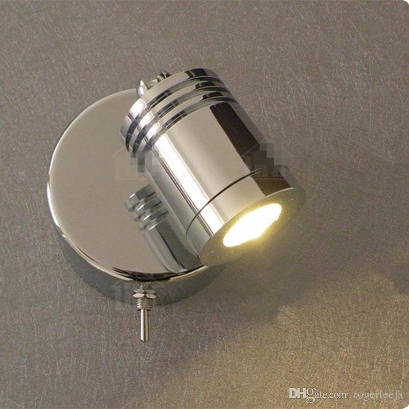 2017 Wall Mounted Reading Lamps 3w Cree Led Chrome Finish
