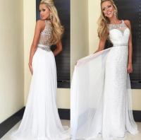 Expensive White Sequins Prom Dresses 2016 Sexy Pretty ...