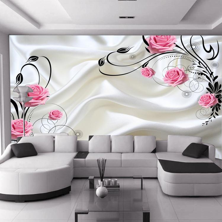 3d Wallpaper For Walls India Hot Sale Can Be Customized Large Mural 3d Wallpaper