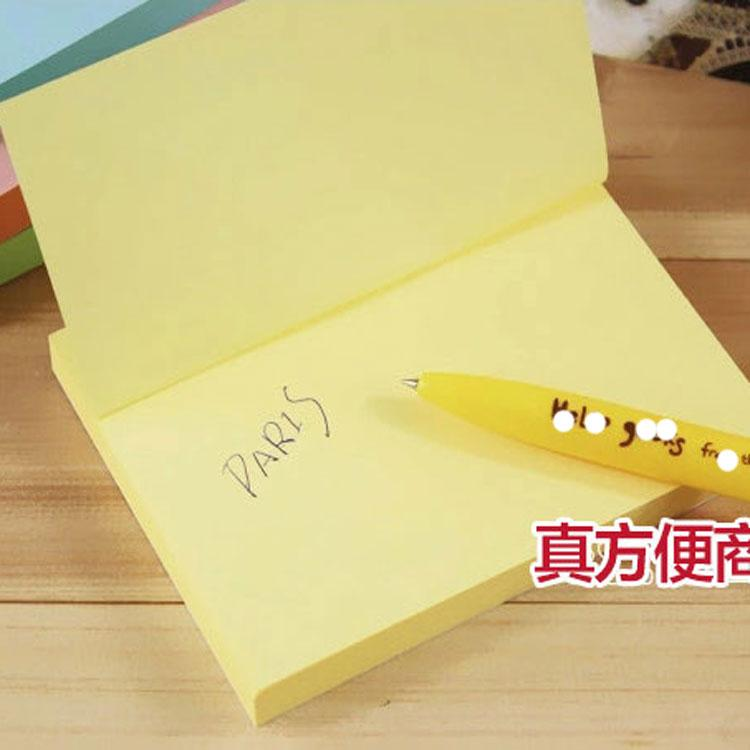 76*101mm 100pages/Pad Note Pads Memo Pad Writing Scratchpad Sticky - meeting note pad