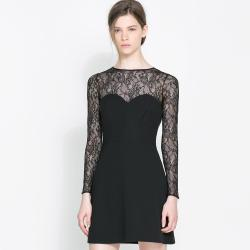 Small Of Long Sleeve Lace Dress