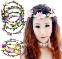 Girl Flower Headbands Festival Wedding Garland Headwear ...