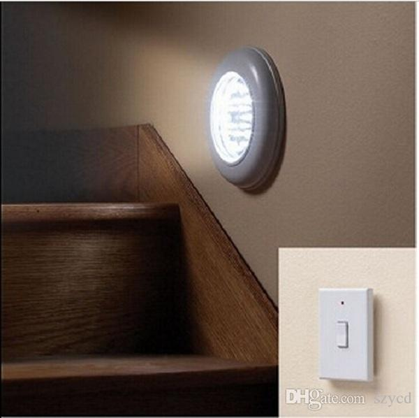 Wireless Ceiling Wall Light with Remote Control Switch Stairs