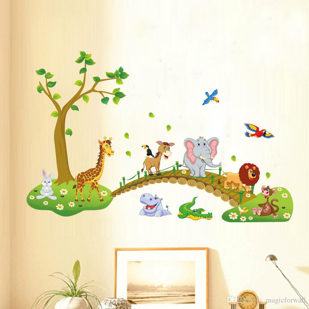 Kids Animal Wall Art - Elitflat