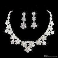 Wedding Jewelry Shining New Cheap Rhinestone Bridal ...