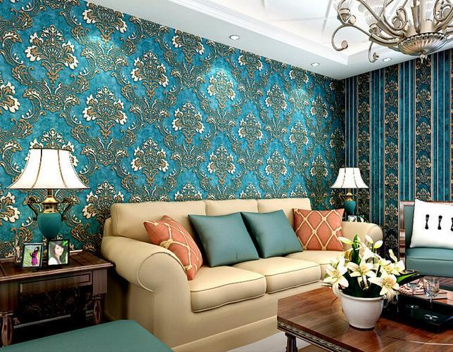 10m 3d Wallpaper Bedroom Living Wall Retro Background Stripe Mural - 3d wallpaper for living room