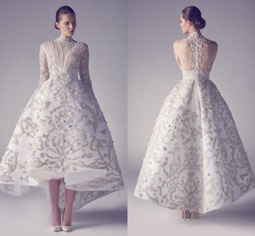 Medium Of White Evening Dresses