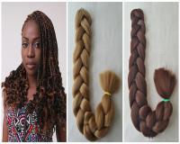 100% Kanekalon Hair Braid 82inch, 165g, Ultra Braid Hair ...