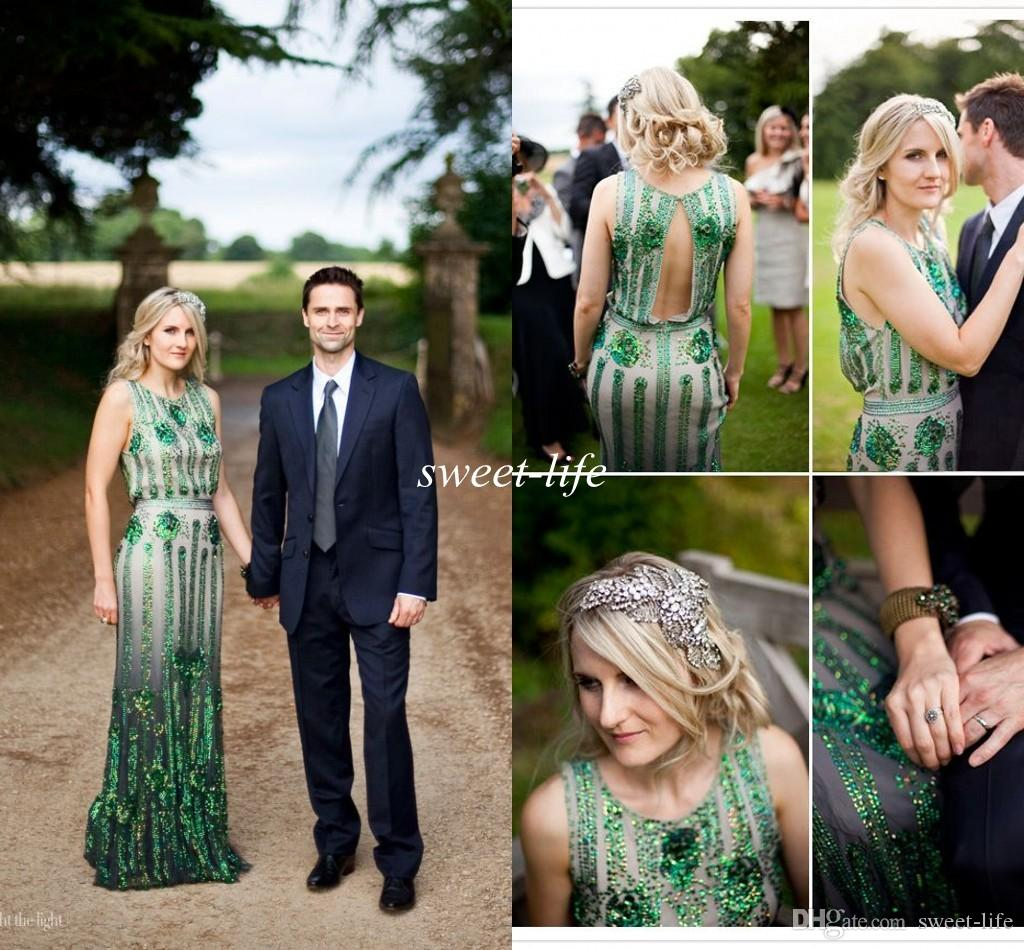 wedding dress with emerald green accents emerald wedding dress Wedding Dress With Emerald Green Accents 76
