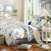 Wholesale-Twill Cotton Bedding Set Queen King Double Bed ...