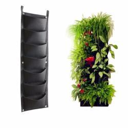 Genial Online Cheap Pockets Outdoor Vertical Garden Planting Bag Hangingwall Balcony Garden Seed Grown Flower Pot Diy Decor Supplies By Online Cheap Pockets Outdoor Vertical Garden Planting Bag