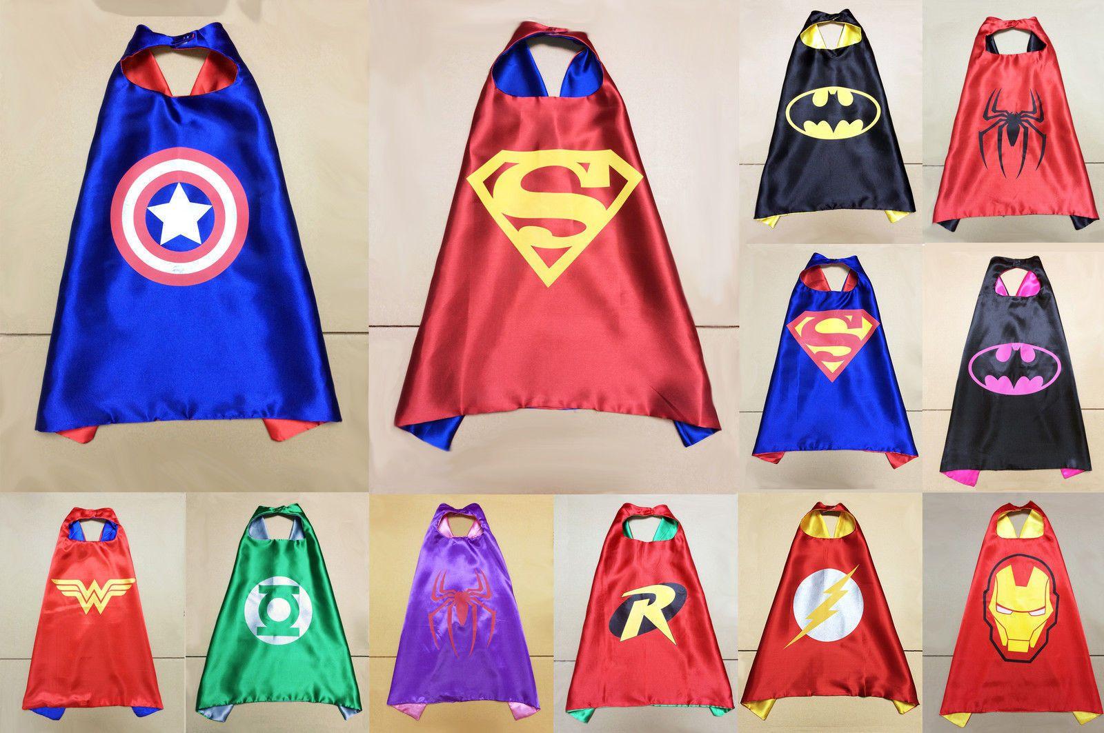 ... Superhero Cape Boys Costume. SaveEnlarge & Cheap Childrens Superhero Costumes - Meningrey