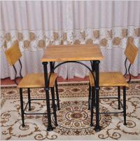 2018 American Pastoral Wrought Iron Tables And Chairs Cafe ...