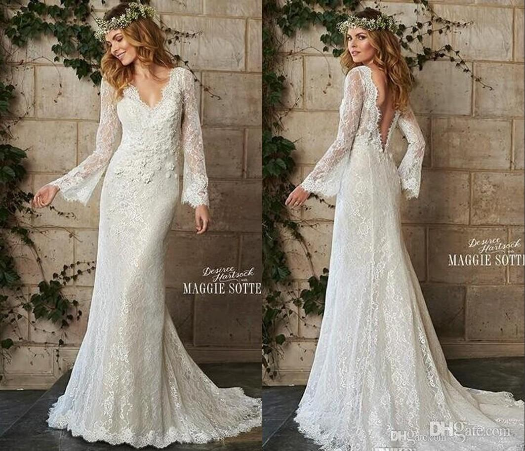 vintage style wedding dresses with sleeves vintage inspired wedding dresses Vintage Style Wedding Dresses With Sleeves 6